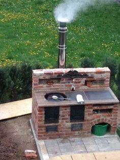 Я ее год строил #outdoorfireplace