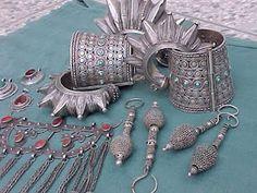 various Kuchi jewelry