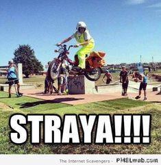 Aussie postman humor – Welcome to Straya at PMSLweb.com