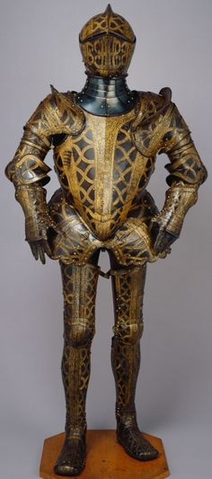 Jacob Halder (active - Armour garniture of Sir Christopher Hatton for the field, tourney, tilt and barriers