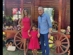Rafaella Justus posa com Ticiane Pinheiro e Roberto Justus em sua festa de…