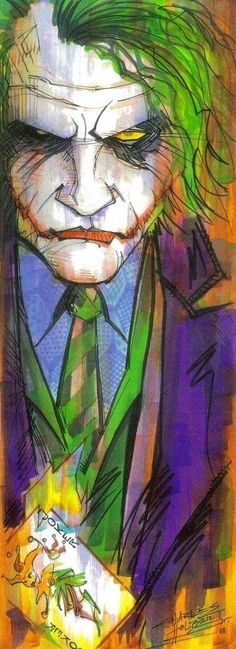 The Joker by Charles Holbert Jr. The Joker by Charles Holbert Jr. The Joker, Joker Art, Joker Batman, Joker Comic, Joker Heath, Gotham Batman, Batman Art, Batman Robin, Batgirl
