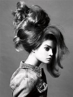 natalia beauty14 Morning Beauty | Natalia Vodianova by Steven Meisel