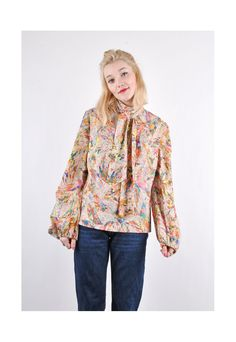 psychedelic dream blouse