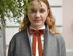 wome's fashion, bow tie, girl's bow tie, romantic, street style