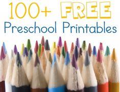 100+ Free Preschool Printables