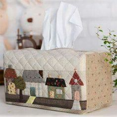Find parts of your perfect world on Indulgy, keep them for yourself, and share to others. Quilting Tutorials, Quilting Projects, Quilting Designs, Sewing Projects, Tissue Box Holder, Tissue Box Covers, Tissue Boxes, Small Quilts, Mini Quilts