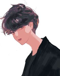 Fanart BTS - Love is nothing stronger - Pagina 2 - Wattpad Pink Hair Anime, Rapmon, Bts Drawings, Beautiful Morning, Yoonmin, Looking Gorgeous, Art Sketches, Character Design, Wattpad