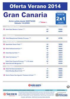 Hasta 2x1 hoteles en Gran Canaria, salida 14 Junio desde Santiago ultimo minuto - http://zocotours.com/hasta-2x1-hoteles-en-gran-canaria-salida-14-junio-desde-santiago-ultimo-minuto/