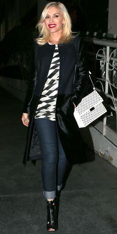 Look of the Day - November 3, 2013 - Gwen Stefani from #InStyle