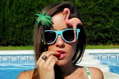 http://www.theguestgirl.com/2013/07/blue.html #summer #paradise #ibiza #palma #adl #pool #piscina #girl #enjoy #bikini #cool #party #blogger #new