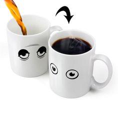 Wake Up Heat Changing Mug
