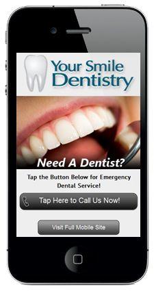 Mobile Landing Page Example by Academic Ads Ltd. - Your Smile Dentistry Mobile Landing Page, Movie Search, Landing Page Examples, Mobile Friendly Website, Portfolio Website Design, Mobile Web Design, Dental Services, Mobile Marketing, Dentistry