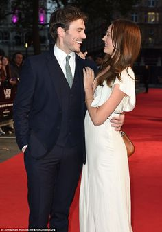 Stargazers! Looking loved-up more than ever, the couple - who wed in 2013 - looked chic for their appearance on the red carpet on Thursday as part of the BFI London Festival
