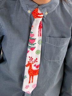 Krawat świąteczny (proj. Mi-ju)