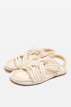 Fiesta Flat Rope Sandals
