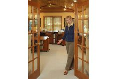Nancy Zieman's Koala Studio - love those French Doors!