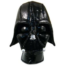 Star Wars Darth Vader Putter / Hybrid Golf Head Cover by Star Wars. $21.79. Is the dark side with you? Hone your skills on the golf course with Darth Vader.  The Darth Vader Putter Cover features outstanding detail across the entire head cover and is a great addition to any golf bag and a sure conversation starter on the course.  The Velcro clasp runs the entire length of the neck.  This cover is designed for a mallet putter or any hybrid irons.