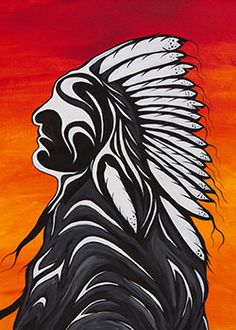 Friends United by Rolf Bouman | Native Art, Aborigian Art, Friends United Canada, First Nation Art