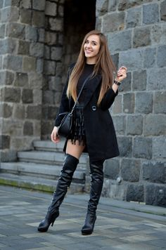 JAKIE SERIALE OBEJRZEC? MOJE TOP 10 | BLACK TOTAL LOOK | DRESSLILY COAT