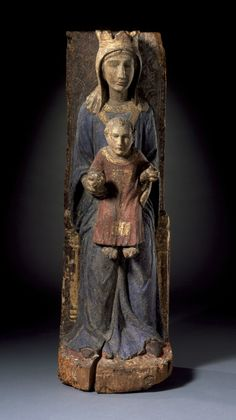 Enthroned Virgin and Child (Umbria, ca. 1340-60, LACMA, Los Angeles)