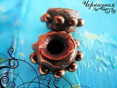 Spacers set 2 pcs 0808 by AnnaChernykhFindings on Etsy, $2.80