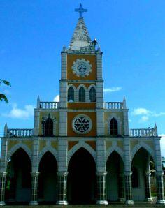 El Callao. Iglesia del Callao en el Estado Bolívar, Venezuela