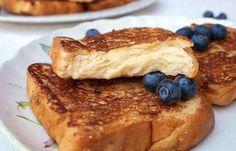 Tostadas francesas de pan brioche