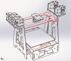 DIY 3D Printing: ORDSolutions MH3000 5 color or material DIY 3d printer with liquid cooling