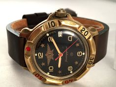 Your place to buy and sell all things handmade Army Watches, Watches For Men, Military Men, Mechanical Watch, Watch Brands, Stainless Steel Case, Buy And Sell, Leather, Stuff To Buy