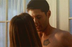 Should probably save this for tomorrow/Shirtless Thursday. Ah, well. It's Winchester Wednesday. I want to marvel at it now. :P #Supernatural #TheSliceGirls [CLICK THROUGH FOR HAPPINESS]