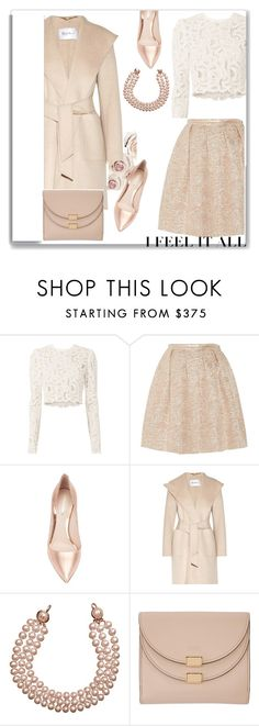 """Untitled #614"" by jovana-p-com ❤ liked on Polyvore featuring A.L.C., Rochas, Nicholas Kirkwood, MaxMara, Chanel, White Label and Chloé"