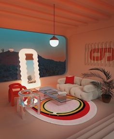Retro Interior Design, Pastel Room, Aesthetic Room Decor, Room Ideas Bedroom, Dream Home Design, Retro Home, Dream Rooms, House Rooms, Room Inspiration