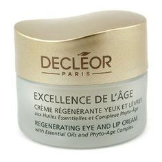 Decleor 15ml05oz Excellence De LAge Regenerating Eye  Lip Cream -- You can find out more details at the link of the image.