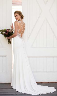 Courtesy of Martina Liana Wedding Dresses #weddingdress