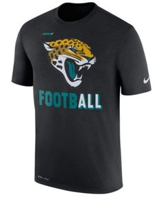 Nike Men's Jacksonville Jaguars Legend Football T-Shirt - Black XXL
