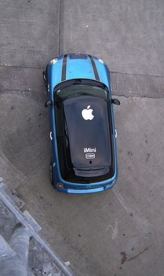 MINI / Apple roof graphic.  <3