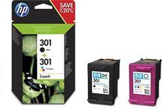 HP N9J72AE  Pack de ahorro de 2 cartuchos de tinta original
