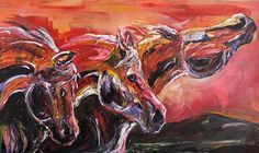ART FOR A CAUSE Prevent Horse Slaughter by AcrylicImpression, $550.00