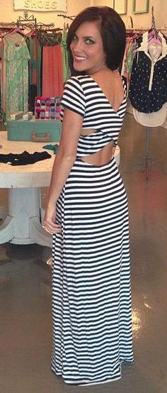 cute maxi dress #summer