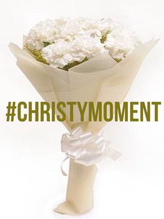At my graduation I'm going to have white carnations!! Because of my love of Christy Miller!