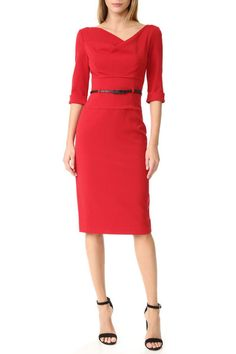 Black Halo Jackie O Sheath Dress Halo 3, Paul Joe, Mara Hoffman, Cynthia Rowley, Alice Olivia, Diane Von Furstenberg, Black N Red, Little Red Dress, Professional Dresses