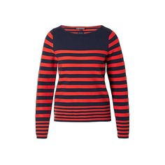 #Tommy #Hilfiger #Ivy #trui #red #blue #stripes #wehkamp