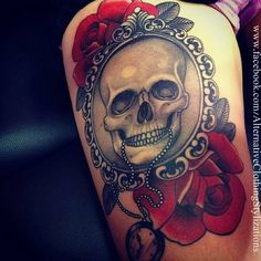 Only loved ones portrait instead of skull