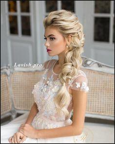 10 Lavish Wedding Hairstyles for Long Hair - Wedding Hairstyle Ideas ... | Einfache Frisuren #weddinghairstyles