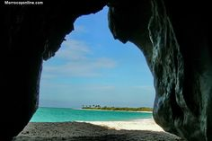 Una cueva en Morrocoy