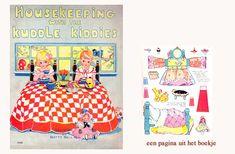 MINIDESIGN (boekjes): Housekeeping with the Kuddle kiddies