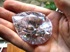 Cullinan I / Star of Africa, it is a 530.20 ct pear shaped diamond, cut from a 3106 ct piece of rough that weighed about 1 1/3 pounds. It is the largest of nine stones to be cut from this rough.