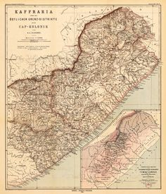 Map of Old South End 1965 | Historical Eastern Cape | Pinterest