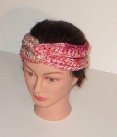 Coral Snake Crochet Turban Headband Boho Headband by TiStephani, $16.00